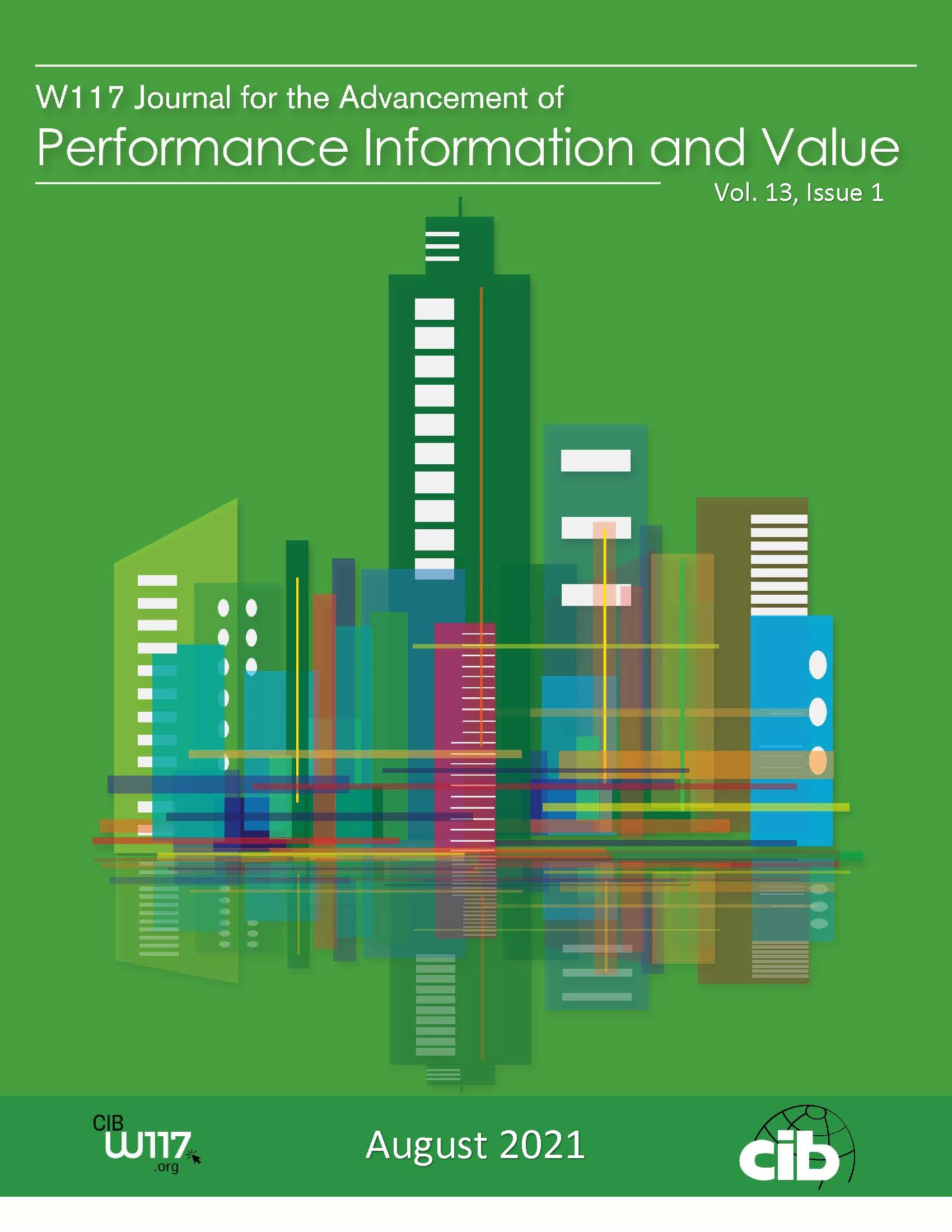 View Vol. 13 No. 1 (2021): Journal for the Advancement of Performance Information and Value